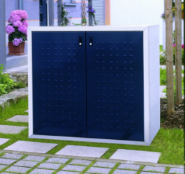 m llschrank m lltonnenbox m llbox f r 3x 240 l s linie. Black Bedroom Furniture Sets. Home Design Ideas