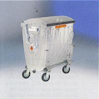 abfallcontainer m llgro beh lter m llcontainer m lltonne 770 liter verzinkt ebay. Black Bedroom Furniture Sets. Home Design Ideas