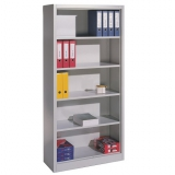 Offenes Büroregal 1950x930x400 mm RAL 7035