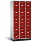Mobile Preview: Postverteilerschrank, 3 x 11 Fächer, 1950x920x500mm