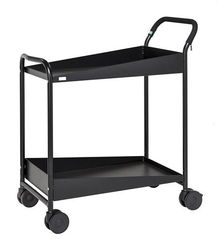 tischwagen 2 etagen 866x455x980mm 4 lenkrollen mit. Black Bedroom Furniture Sets. Home Design Ideas